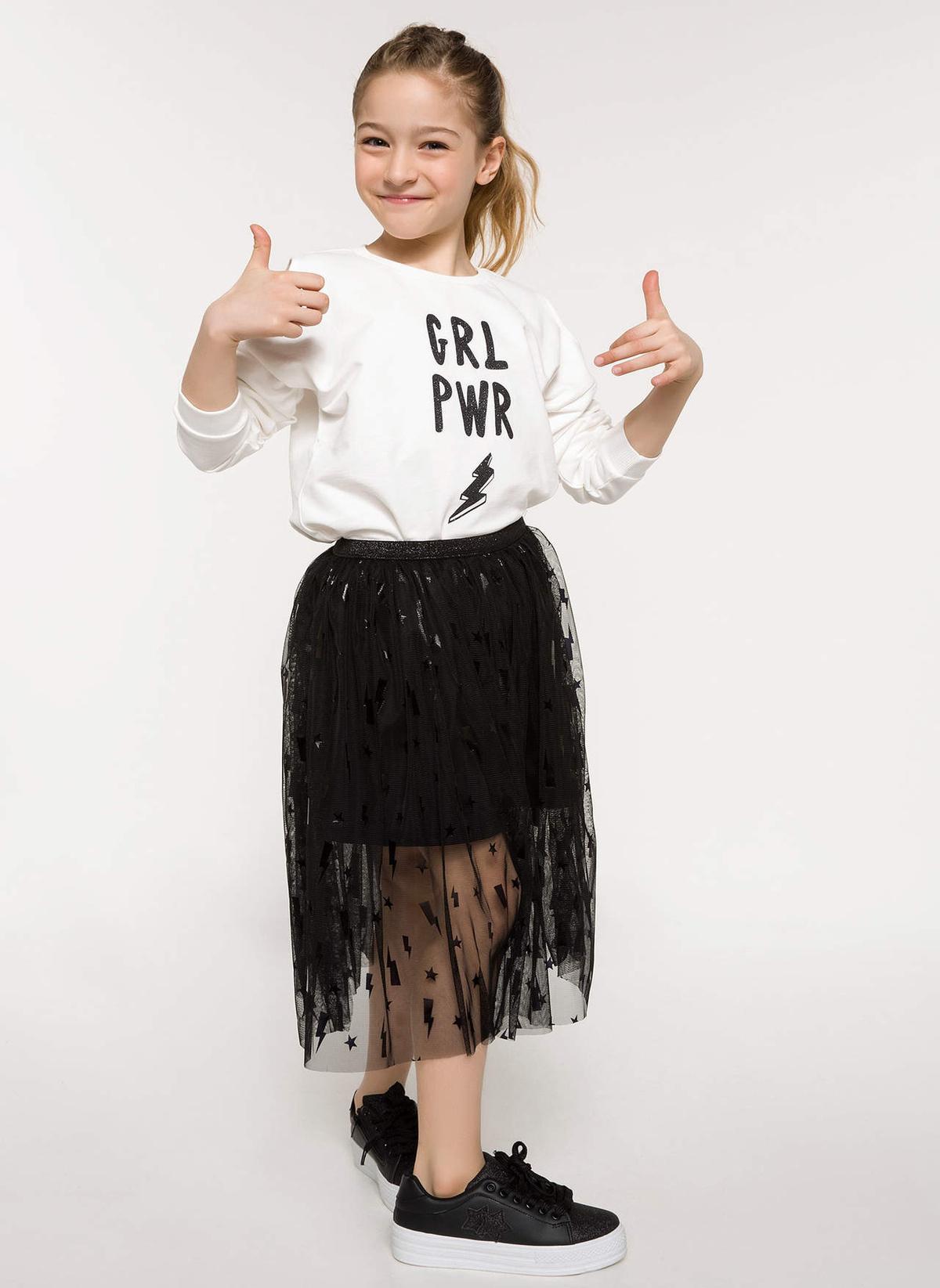 Defacto Sweatshirt I5791a618sper105 Girl Power Baskılı Swea – 29.99 TL